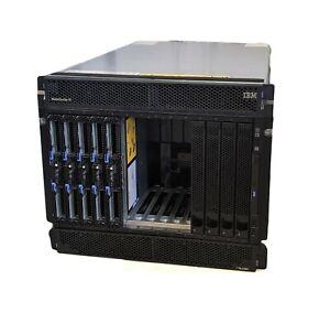 IBM BladeCenter H 88524TG 3xHS22 2xHS23 Blades 60-Cores 512GB RAM Blade Server