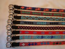 New listing Unique 635 pieces-Pet Collars from the looms of the Maya - signed by artists.