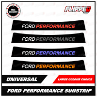 Performance Universal Sunstrip Fiesta Focus Mondeo RS Many colours Fits ford car