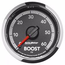 "10-15 Auto Meter 2-1/16"" Boost Kit 0-60 PSI Dodge Ram Diesel Factory Match 8508"