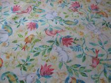 """SWEET TWEET & BUNNY""#2266-3 Herny Glass , 100% cotton fabric. FREE sHIPPING"