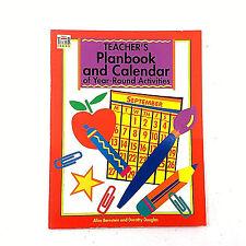 Teachers Planbook & Calendar of Year-Round Activities by Alice Bernstein