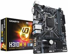 GIGABYTE H310M H Motherboard Intel 8th Gen Socket 1151 2x DDR4 HDMI NEW BOXED