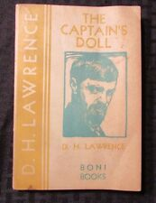 1930 THE CAPTAIN'S DOLL by D.H. Lawrence 2nd Boni Books Paperback VG