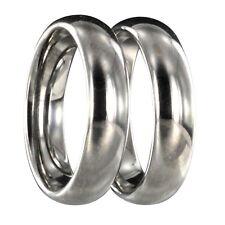 2 Wolfram Tungsten Verlobungsringe Partnerringe Trauringe mit Innengravur 24122