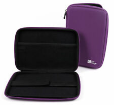 Purple Water-Resistant EVA Hard Armoured 'Shell' Case for Alcatel PLUS 10 Tablet
