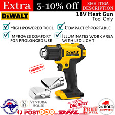 DEWALT 18v XR Li-ion Heat Gun - Skin Only