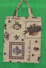 Kräuter der Provence Einkaufsbeutel Tasche Gobelin  Einkaufstasche Tapestry Bag