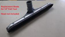 """Replacement Felt Tool Blade Vacuum 14"""" Floor Tool Head for Backpack Vacuum 5325"""