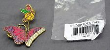 Hard Rock Cafe 2006 San Diego Monarch Guitar Pin New