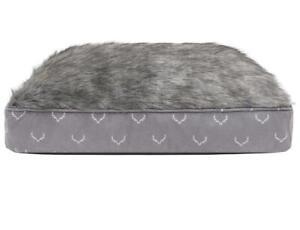 Luxury High Quality Fur Lining Dog Christmas Mattress Bed Dog Gift 72x54x17cm