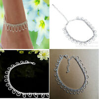 Sexy Charming Crystal Rhinestone Foot Chain Anklet Ankle Bracelet Diamante Shiny