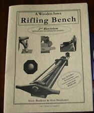 A Wooden Iowa Rifling Bench/gun making/gun building/guns