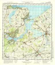 Russian Soviet Military Topographic Maps - TRAVEMUNDE (Germany), 1:50K, ed. 1977