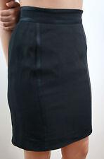 Acetato de Gucci negro corto mezcla de seda/Mini Falda Formal Noche Forrado IT40; UK8