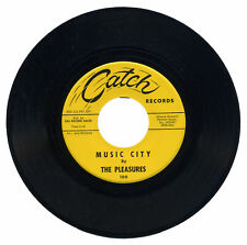 "PLEASURES  ""MUSIC CITY c/w IF I HAD A LITTLE MONEY""   NORTHERN SOUL  LISTEN!"