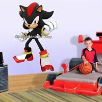 XXL SHADOW The Hedgehog SONIC Decal Removable WALL STICKER Video Game 90x60cm #T