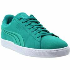 Puma Suede Classic Badge Sneakers Casual    - Blue - Mens