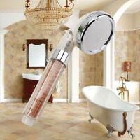 High-Pressure Water-Saving Shower Head Ionic Handheld Filtration Hand Show QSE
