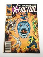 """X-Factor #6 (1986) Key! """"Apocalypse Now!"""" 1st full app of APOCALYPSE!"""