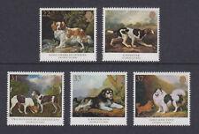 GB MNH STAMP SET 1991 Dogs George Stubbs Paintings SG 1531-1535 UMM
