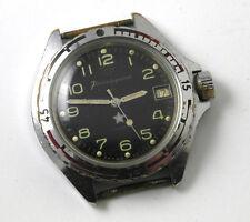 KOMANDIRSKIE Vintage Russian Men's watch Vostok Waterproof Shockproof Hand-windi