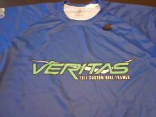 Veritas Full Custom Bike Frames Bicycle   T-Shirt Mens Medium L0