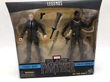 Marvel Legends 6? Black Panther - Everett Ross &  Erik Killmonger 2 Pack Hasbro