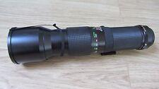 VIVITAR 400mm 1:5.6 LENS FOR KONICA K/AR LENS