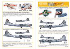 Kits-World 1/144 B-29 Superfortress Nose Art # 144001