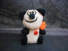 Old Vtg PANDA BEAR STUFFED PLUSH ANIMAL Toy Big Eye
