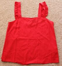 NEW Portmans Women's red tank cami SIZE 12 RRP 59.95