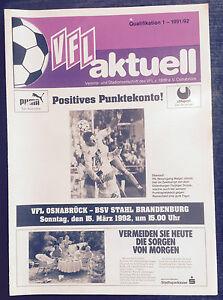 II. BL 91/92 VfL Osnabrück - BSV Stahl Brandenburg, 15.03.1992