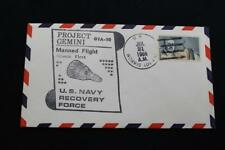 NAVAL SPACE COVER 1966 GEMINI GTA-10 RECOVERY SHIP USS NORRIS (DD-859) (6026)