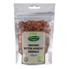 Organic Bitter Apricot Kernels 100g Certified Organic