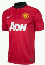Nike Manchester United NEW Home Jersey 2013-14 Original Size Small Mens