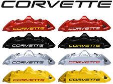 8 X Corvette C5 Brake Caliper Decals Stickers Graphics Vinyl Logo Emblem I