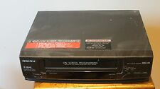 Orion Vro420a Video Cassette Recorder Vhs Vcr Tested Working - No Remote