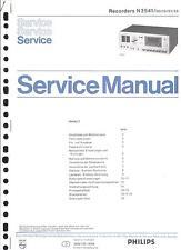 Philips Original Service Manual für Recorder N 2541