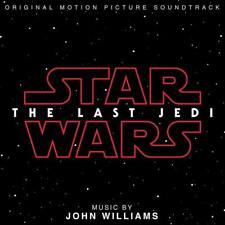 STAR WARS THE LAST JEDI - Soundtrack John Williams CD *NEW* 2017
