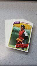 (32) 1980 Topps Baseball Hall of Fame & Stars Lot! EX! BV$80! NO RESERVE!