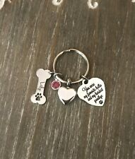 Urn Keychain for Dog cremation ashes Personalized Name Bone memorial Jewelry