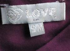LOVE AubergeneJerseySleevelessFlaredMiniSizeS/M