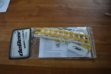 deBeer Women's Gripper Pro Stringing Kit Yellow & White New (Lax133) Ihh