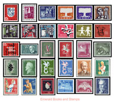 EBS Germany 1957-1959 Saarland ALL COMMEMORATIVES Michel 379/448 MNH**
