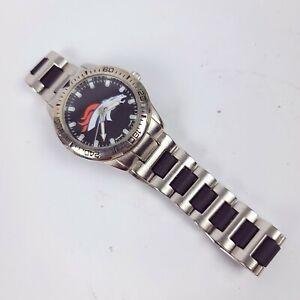 GAME TIME Coach Series DENVER BRONCOS Mens Wristwatch