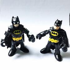2pcs PlaySkool Heroes Batman Marvel Adventures Universe IMAGINEXT Action Figure