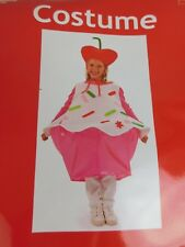 Child Size Cupcake Halloween Dress-Up Costume One Size No Hat #7514
