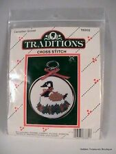 "Traditions ""Canadian Goose"" Cross Stitch Kit #T8502 Sealed"