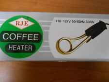 Coffee and Hot Water immersion Heater. Portable